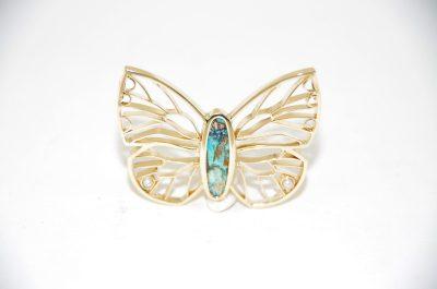 Skriver design guldsmed Jette guld opal perler smykke unika håndlavede