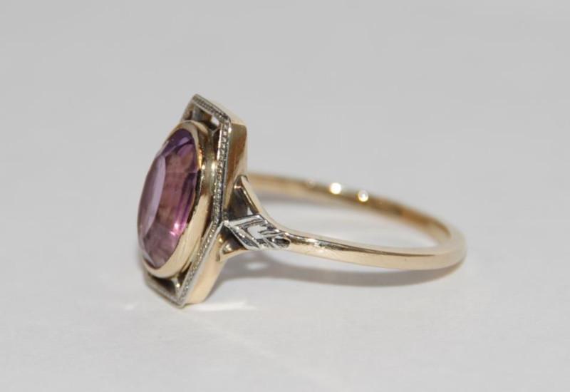 Skriver design guldsmed Jette reparationer smykker guld ring